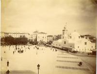 Algérie, Alger, Place du Gouvernement, mosquée de la Pêcherie Jamaa al-Jdid Vint