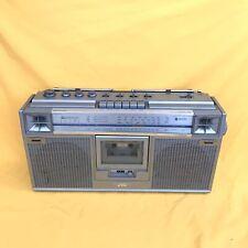 JVC RC-656LB Ghettoblaster Boombox Vintage Retro Radio cassette Player