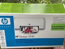 HP Deskjet 3940 Color Inkjet Printer New - Open Box