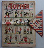 Topper comic #1 - 7 Feb 1953 + FREE GIFT Big Crack Bang RARE GD+ (phil-comics)