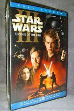 Star Wars Episode III: Revenge of the Sith (DVD, 2005, 2-Disc Set, Full Screen)