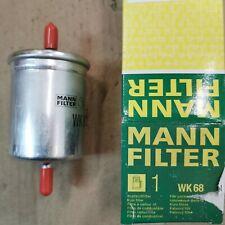 MANN-FILTER Kraftstofffilter WK 68 für Hyundai, Kia, Renault