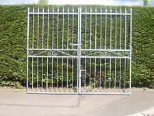 Double driveway gates 6 ft high for a 7 ft 6 ins opening fully galvanized
