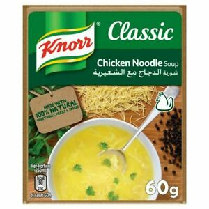 Knorr Packet Soup Chicken Noodle 60g No artificial colorants