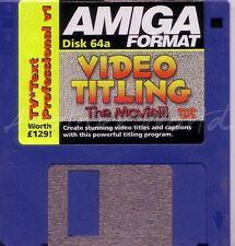 Amiga Format - Magazine Coverdisk 64a - TC Text Pro <MQ>