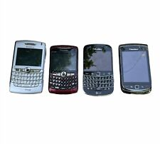 Lot of 4 Cell Phones Older Styles Blackberry | Phones Only | Untested for Parts