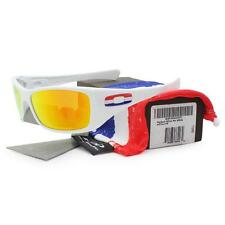 Oakley 24-214 HIJINX Holland Polished White Fire Iridium Mens Sport Sunglasses