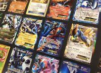 100 Pokemon Cards Lot TCG Cards Ultra Rare Included - 1 GX EX MEGA OR SECRET