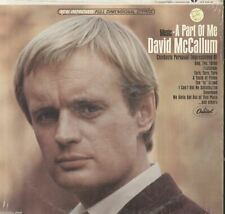David McCallum Music - A Part Of Me vintage Vinyl Record Album