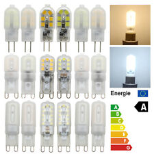 Dimmable G9 G4 3W 5W 7W LED Capsule Light Bulbs Replace Halogen Cool Warm White