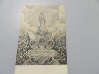 Carte Postale Période Vintage Pio Ix Pio X Lion XIII Jubilee Début Du 1900