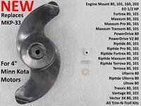 NEW Trolling Motor Prop Replaces Minn Kota MKP-33 Engine Mount Fortrex Ultrex