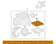 Lexus TOYOTA OEM 04-06 RX330-Cabin Air Filter 87139YZZ03