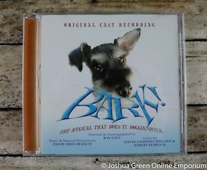Bark! The Musical That Does it Doggie Style Original Cast Theater Recording CD