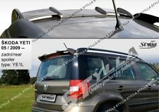 SPOILER REAR ROOF TAILGATE SKODA YETI BRAND WING ACCESSORIES