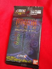 EVANGELION TRADING CARDS / 10 CARDS BOOSTER PACK BANDAI / UK DESPATCH
