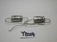 VINTAGE ELECTRONIC CAPACITOR SPRAGUE 50-15 DC 30D675 7447H LOT OF 2