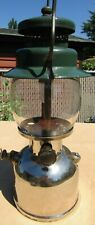 COLEMAN MODEL 242B SINGLE MANTLE LANTERN ~ RESTORED!  MADE IN USA IN 1936 ~ 1942