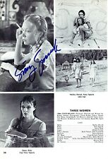 Sissy Spacek signed Magazine Page Vintage - Carrie - Oscar Winner