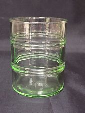 Anchor Hocking BANDED RINGS GREEN Old Fashioned Depression Glass
