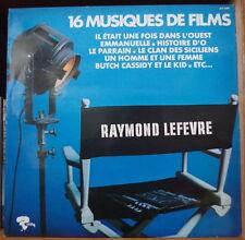 RAYMOND LEFEVRE 16 MUSIQUES DE FILM RARE FRENCH LP RIVIERA 1976