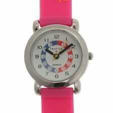 Kids Girls Crafted Alphabet Watch Colourful New