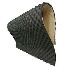 KTV Room Sound Absorber 20mm Acoustic Foam Car Deadening Proofing 50 X 50cm WYS