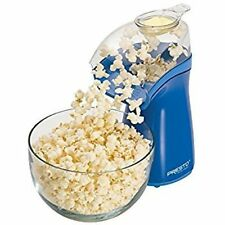 Hot Air Electric Popcorn Popper Presto 04841 Easy To Clean Butter Melter Blue