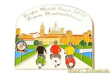 """Metall-Plakette """"Vespa World Days 2014 - Team Deutschland"""" - 100 Stk weltweit! S"""