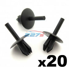 20x Plastic Trim Clip Rivets, Fit a 5.5mm hole, FIX103, Fits some Ford,