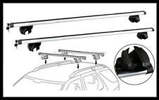 2x NEW CROSS BAR ROOF RACK For Skoda Kodiaq 2017 - 2021 clamp to raised rail