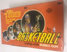 2001-02 Topps Heritage Basketball Hobby Box Factory Sealed 24 Pack