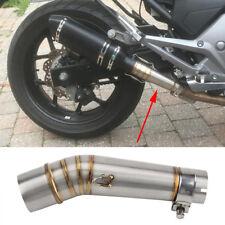 Slip on Exhaust Middle Link Pipe Muffler for Honda NC700 NC750X NC750 NC700S