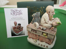 Harmony Kingdom Two by Two Noahs Ark Ii Uk Made Marble Resin Box Figurine Sgn