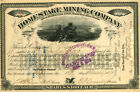 Homestake Mining Company - Stock Certificate