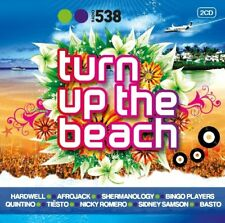 RADIO 538: TURN UP THE BEACH 2 CD NEW+ NICKY ROMEO/MARTIN SOLVEIG/LA FUENTE
