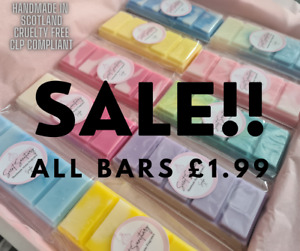 HIGH QUALITY STRONG SCENTED WAX MELTS💜DESIGNER FRAGRANCE💜FRUITY💜LAUNDRY💜