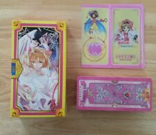 Cosplay Anime Card Captor Sakura The Clow 56 Tarot Cards-  Pink set