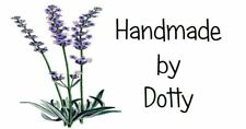 Personalised Mini Stickers labels x 65 - Handmade by - Lavender Plant