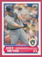 1989 Score Young Superstars # 33 Joey Meyer -- Seattle Mariners
