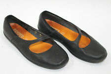 CAMPER women shoes sz 7.5 Europe 38 black leather S7891