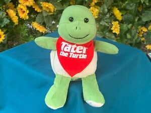 "ULTRA RARE Fiesta Tater The Turtle Famous Tate 7"" Plush Stuffed Animal Toy"