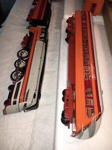 LIONEL Standard Gauge Hiawatha Engine Tender And 4 Car Passenger Set. NIB