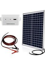 ECO-WORTHY | 20 Watts 12V Off Grid Solar Panel Kit | Waterproof 20W Solar Panel