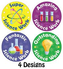 144 x Science Reward Stickers Schools Teachers Parents Kids Chemistry