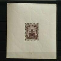 Belgium 1936 Stamp exhibition Borgerhout block Mi 4 YT BF5 MNH 115x124 mm