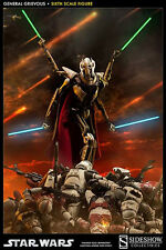 "Star Wars General Grievous Figure Sideshow Highly Detailed 1/6 Scale 17"" HUGE"