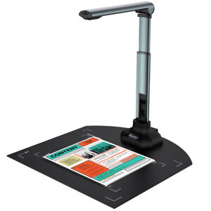 USB Document Camera Laptop Document Scanner W/ Paint Tool OCR For Distance Learn