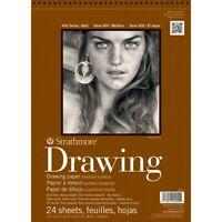 "Strathmore 400 Series Drawing Paper Pads - 9x12""  - 80 Lb. (130Gsm), 9X12"" Pad"