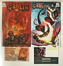 RED GOBLIN RED DEATH 1 VARIANT LOT PETE WOODS 1:25 PARRILLO TRADE w/COA LTD 1000